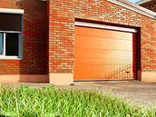 Современные секционные гаражные ворота