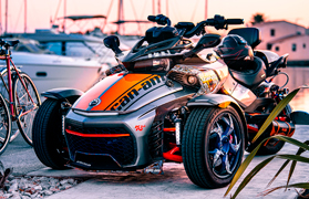 Принт BRP Can Am Spyder Roadster
