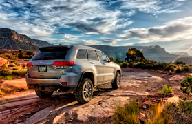 Принт Jeep Grand Cherokee Trailhawk